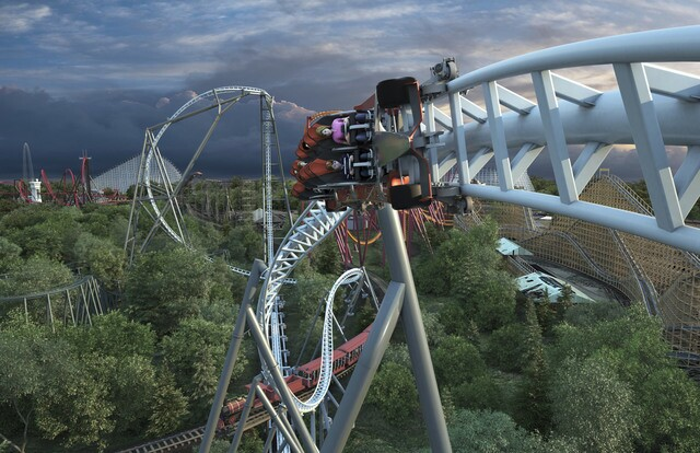 Six Flags will unveil Maxx Force, the 'fastest launch coaster in North America', in 2019 [PHOTOS]