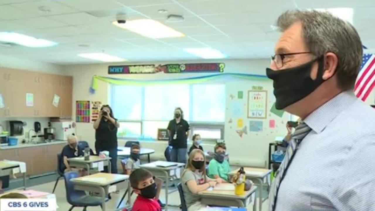Thanking a teacher during Teacher Appreciation Week