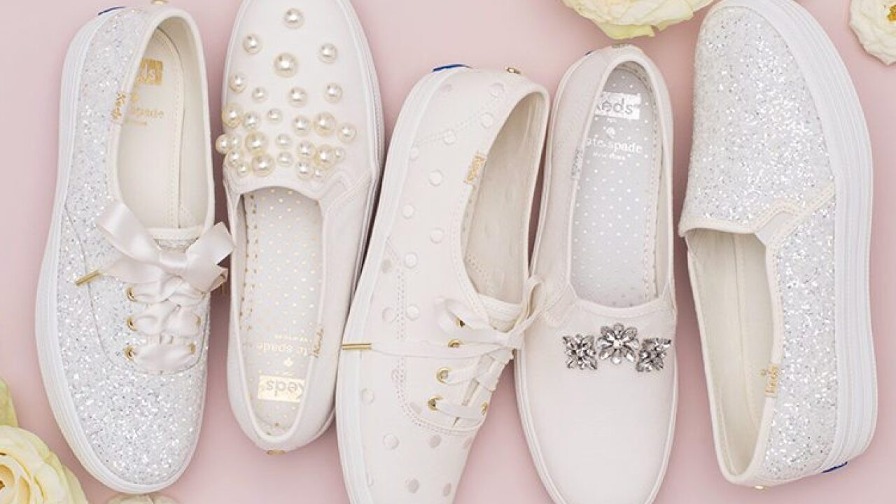 1ee1a53f7ae Keds And Kate Spade Just Launched A Line Of Wedding Sneakers