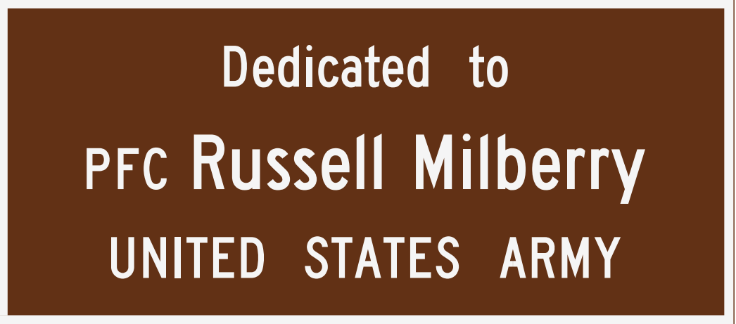 dedication tribute russell milberry