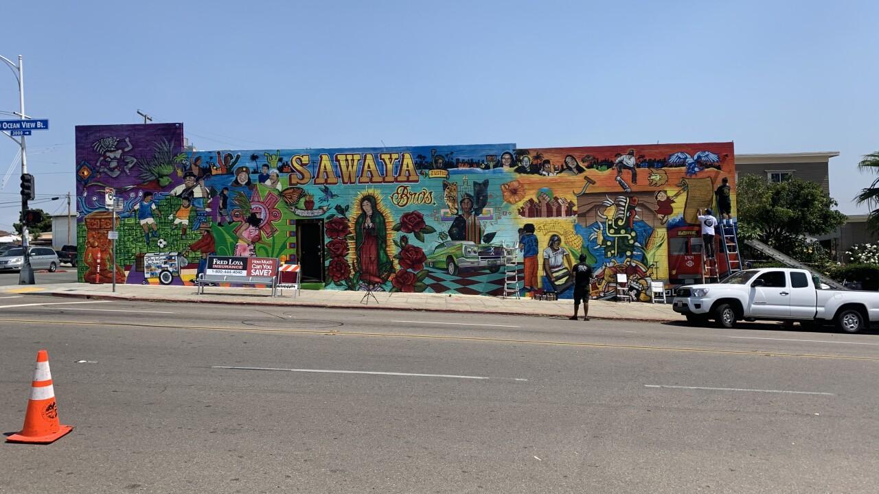 Logan Heights mural