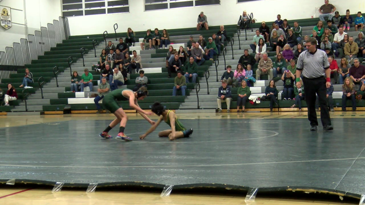 Local teen inspiring others on the wrestling mat