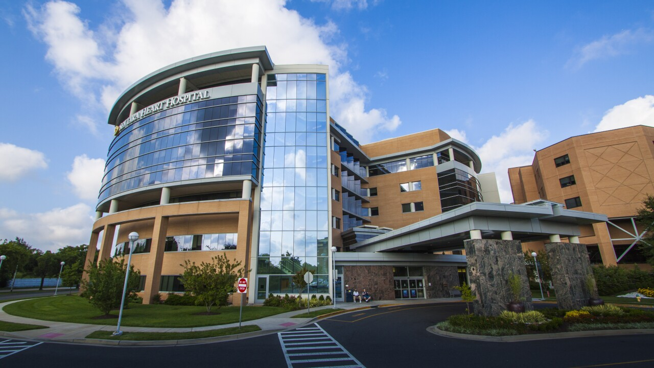 Sentara Heart Hospital ranks among nation's best