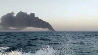 Iran Navy Fire ship