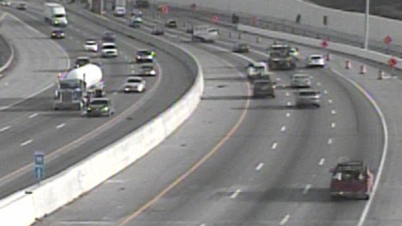 Expect lunchtime delays on I-75 at Mitchell Ave