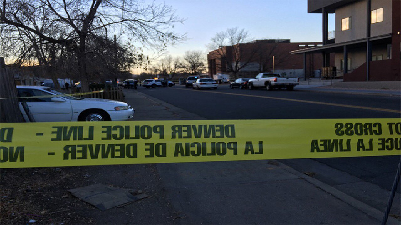 Victim of 2-car crash dies after shooting in southwest Denver