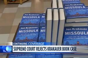 US Supreme Court rejects Krakauer book case