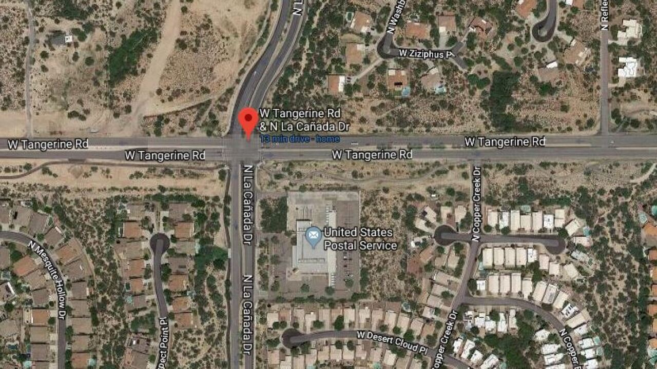 Serious injury wreck snarls traffic in Oro Valley