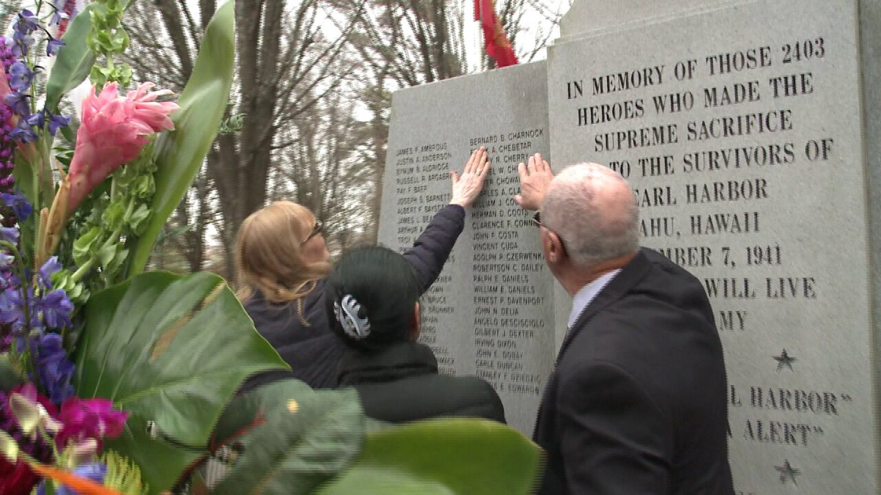 Dozens attend Pearl Harbor remembrance ceremony at JEB Little Creek-FortStory