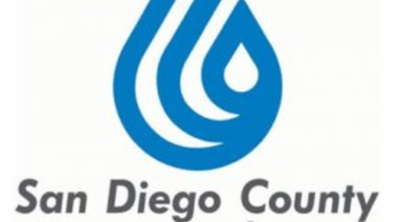 San Diego County has enough water for 2019, Water Authority says