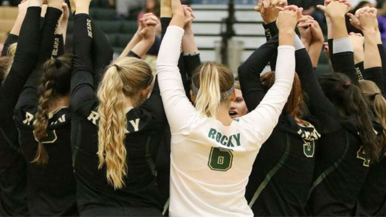 Rocky Mountain College volleyball garners academic honor