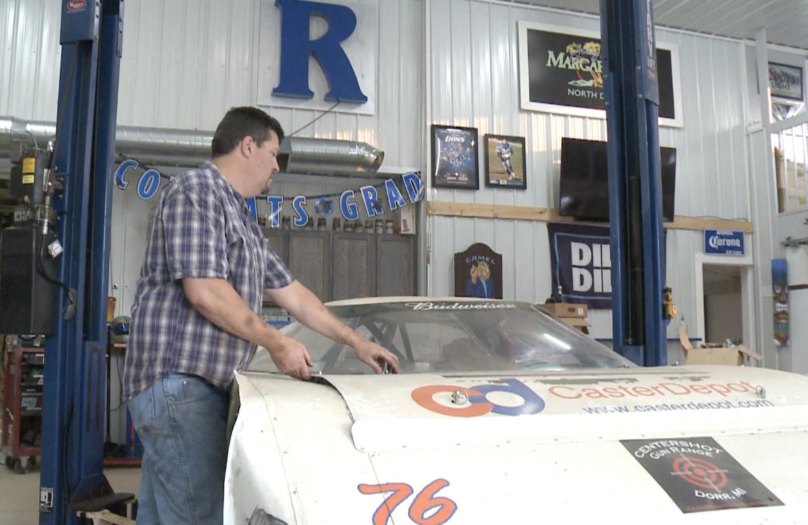 Doug Rodanhisler gets set to return to racing