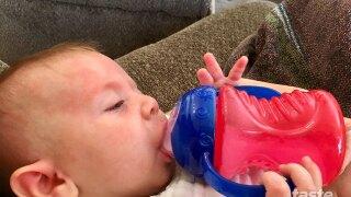 I-95 mom tests no spill Nuby bottle
