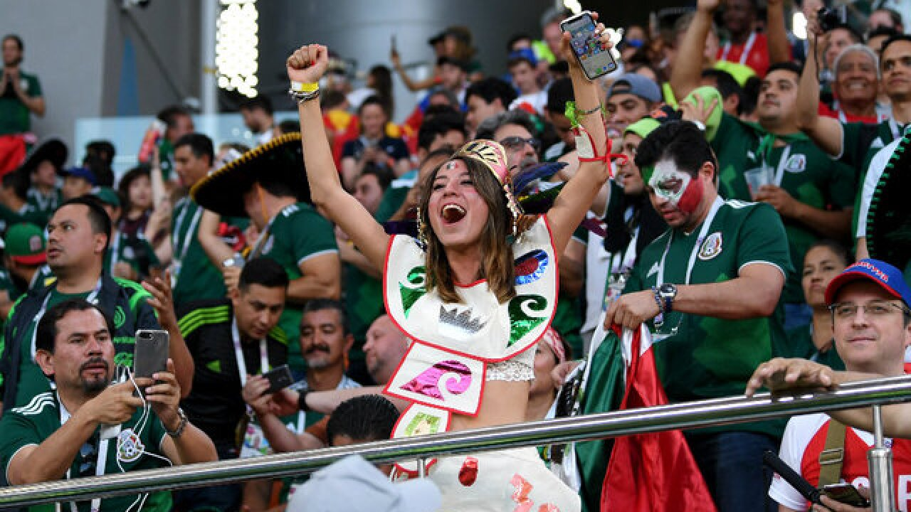 Mexico moves on in 2018 World Cup