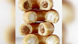 Krispy Kreme has a new doughnut to celebrate the 50th anniversary of Apollo 11