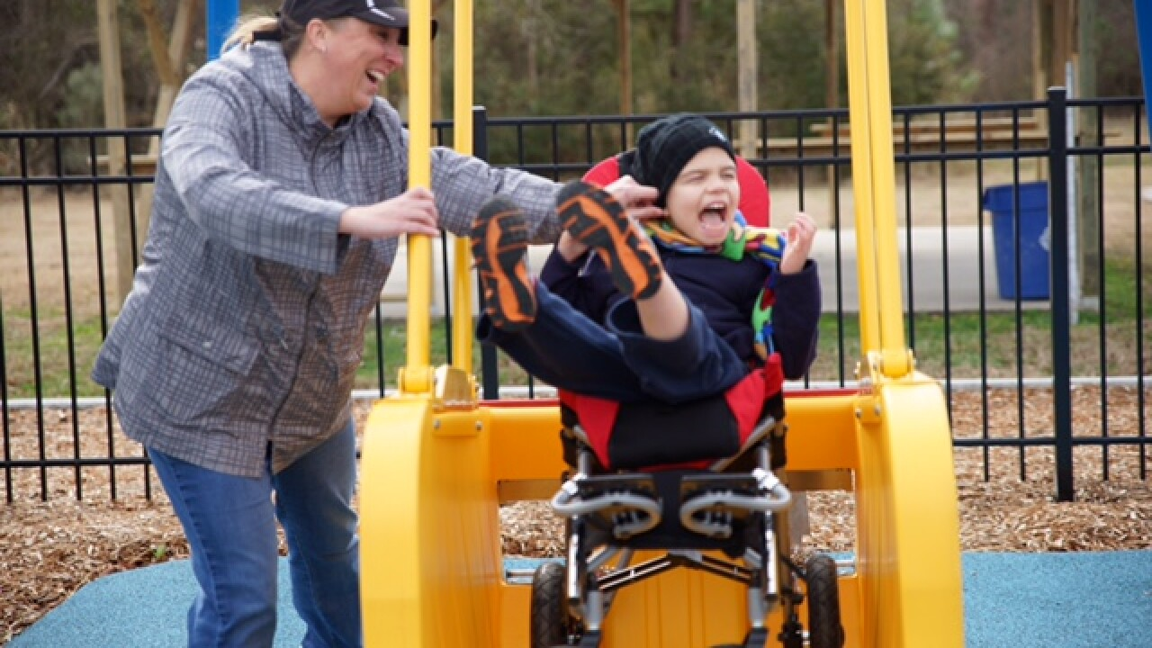 Inclusive playground opens in Pamlico County