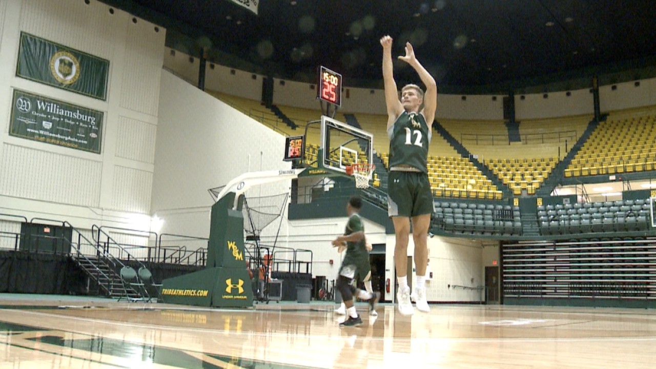 William & Mary men's hoops remains undefeated in conference play