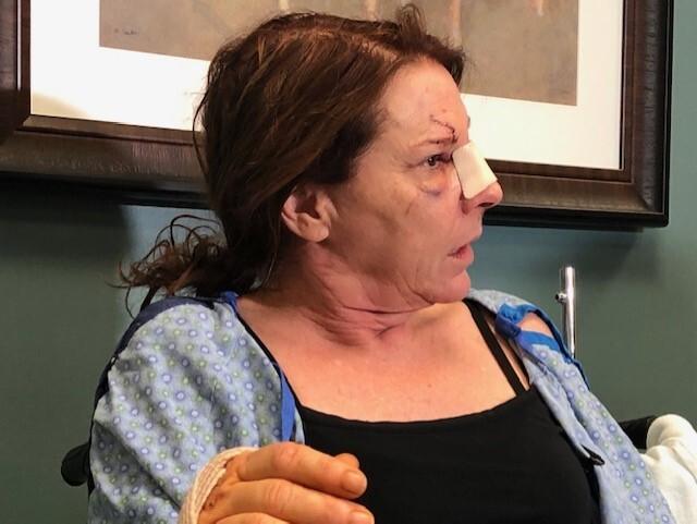 Leslie Maddox survived horrific crash
