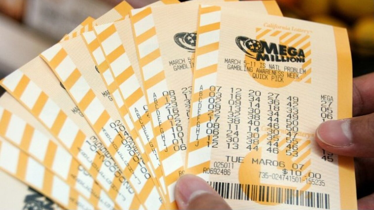 Ticket sold in Virginia won $1 million in Mega Millions drawing