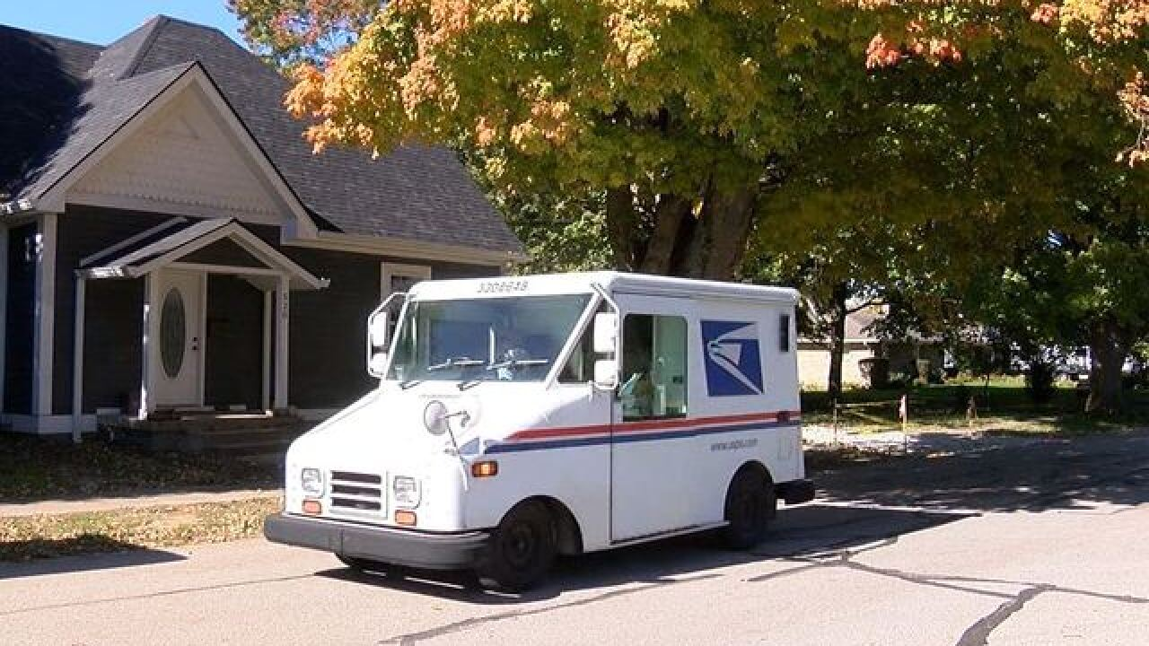 Post office won't deliver mail to Fortville couple's home