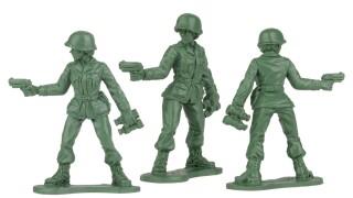 BMC Toys plastic army women