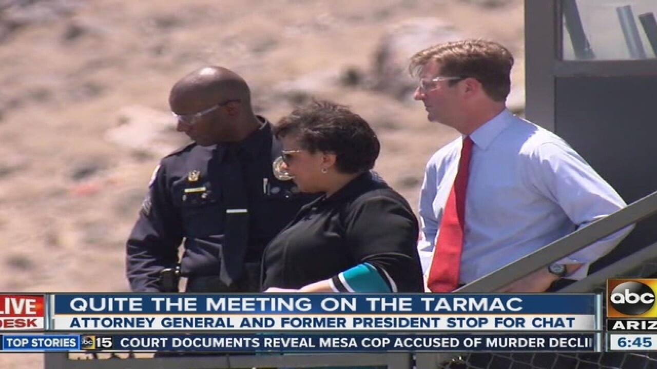 How the private meeting of Loretta Lynch and Bill Clinton was exposed