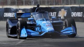 Jimmie Johnson IndyCar Detroit Auto Racing