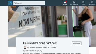 LinkedIn career expert talks hot jobs, how to land one