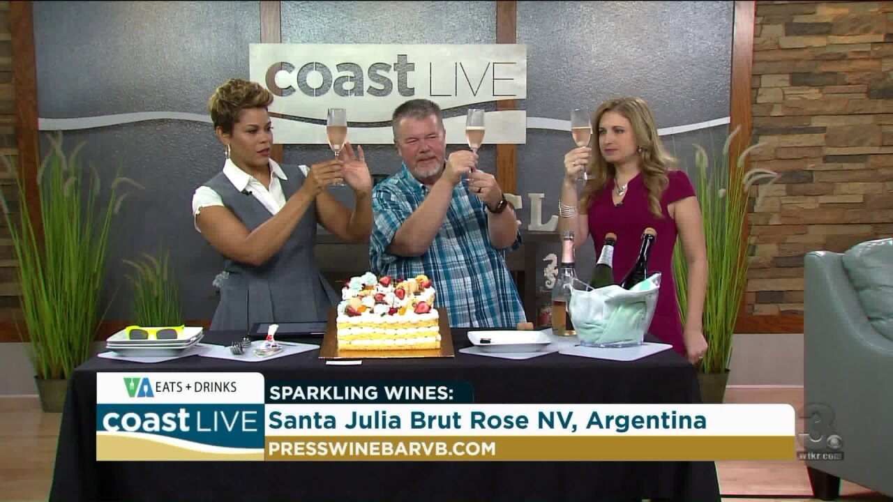 Cef Patrick helps us celebrate our anniversary in style on CoastLive