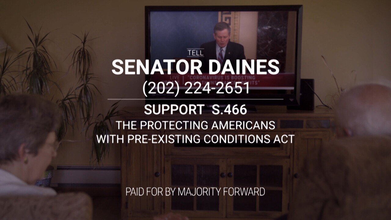 Sen. Daines' health-care record attacked in TV ad – what are the facts?