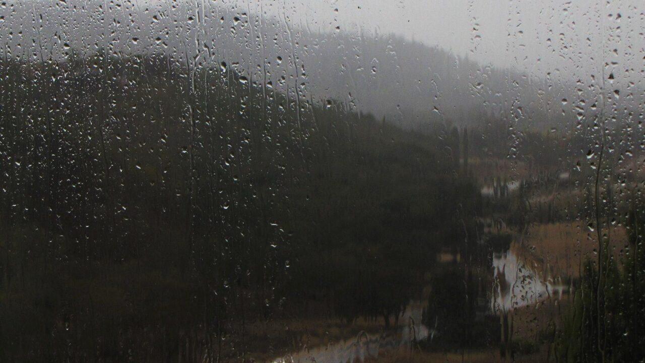 Rain tapers off tonight