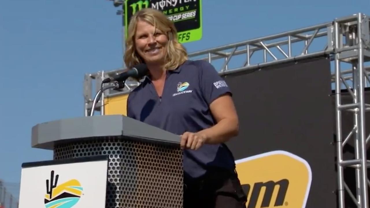 Julie Giese, Phoenix Raceway President, fueling success in NASCAR