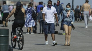 Virus outbreak in New York beach