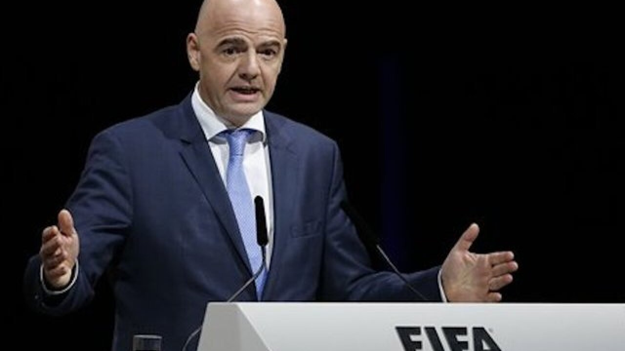 FIFA ethics court drops investigation of President Infantino