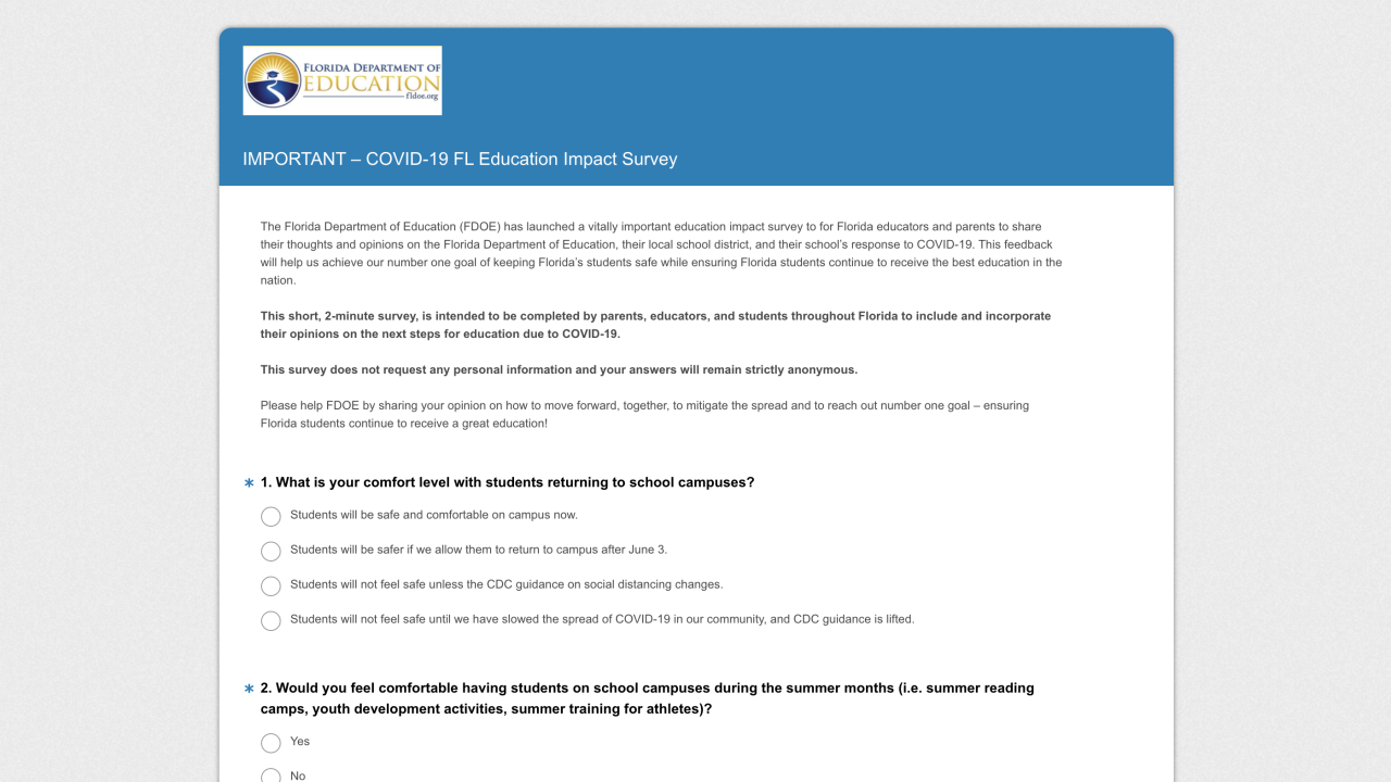 FDOE Survey on Educational Impact COVID-19.png