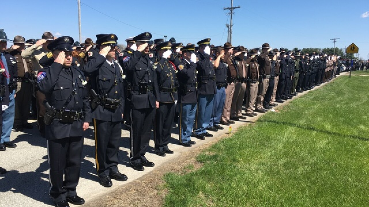 PHOTOS: Processional for Dep. Carl Koontz