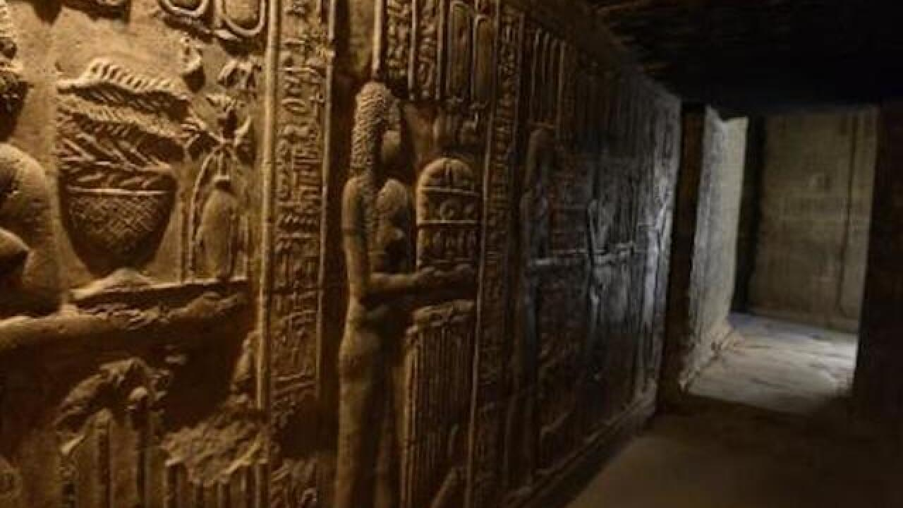 Look inside the 4,400-year-old tomb discovered in Egypt