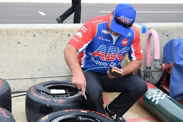 PHOTOS: In Pit Lane at the 101st Indy 500
