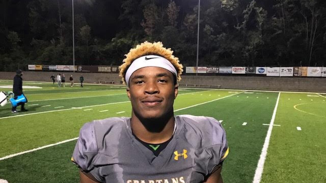 Roger Bacon Junior Rb Corey Kiner Scores Eight Touchdowns In Spartans Win