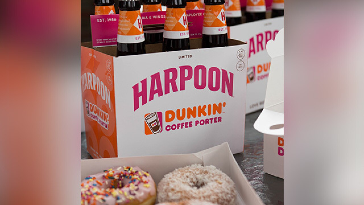Dunkin's new coffee beer hits store shelves