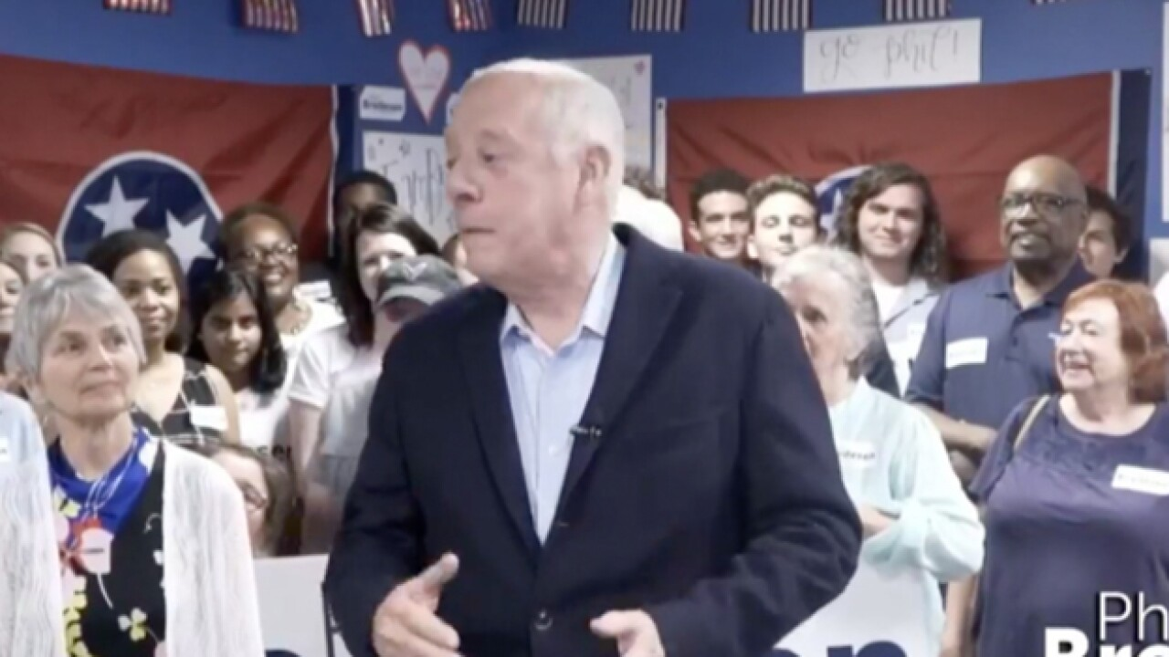 Phil Bredesen Wins Democratic Primary In U.S. Senate Race