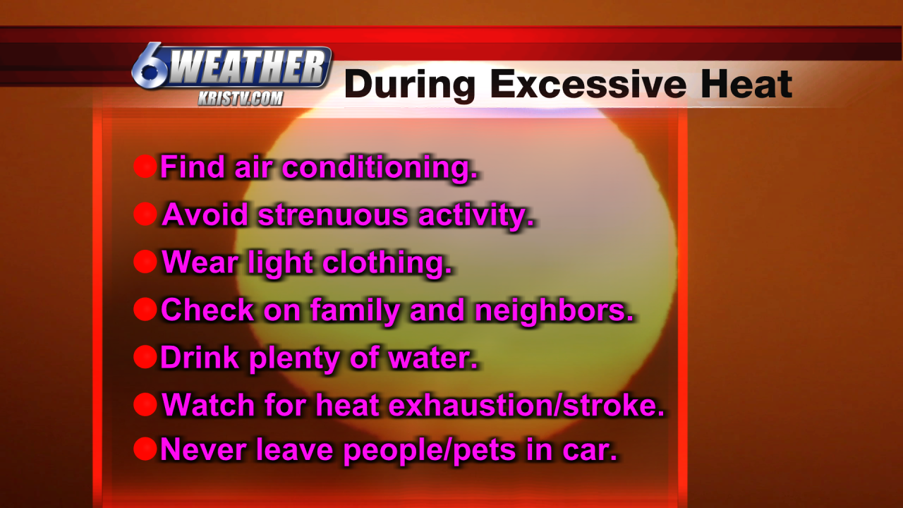 6WEATHER Beat the Heat Tips