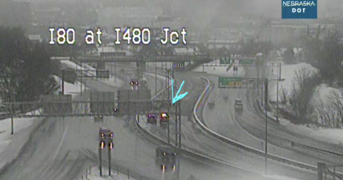 Snow packed roads lead to accidents & closures in the Metro