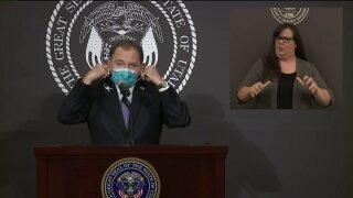 Governor Gary Herbert facemask
