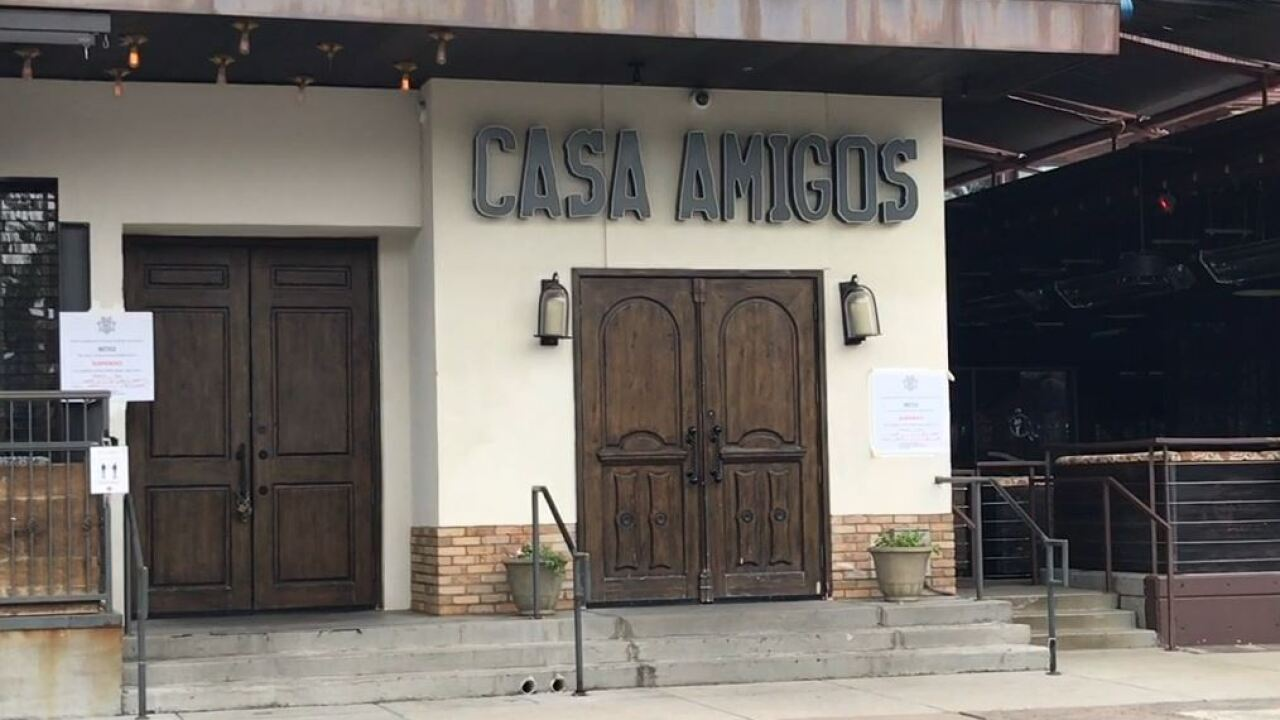 Bottled Blonde, Casa Amigos shut down for violating ADHS requirements for reopening