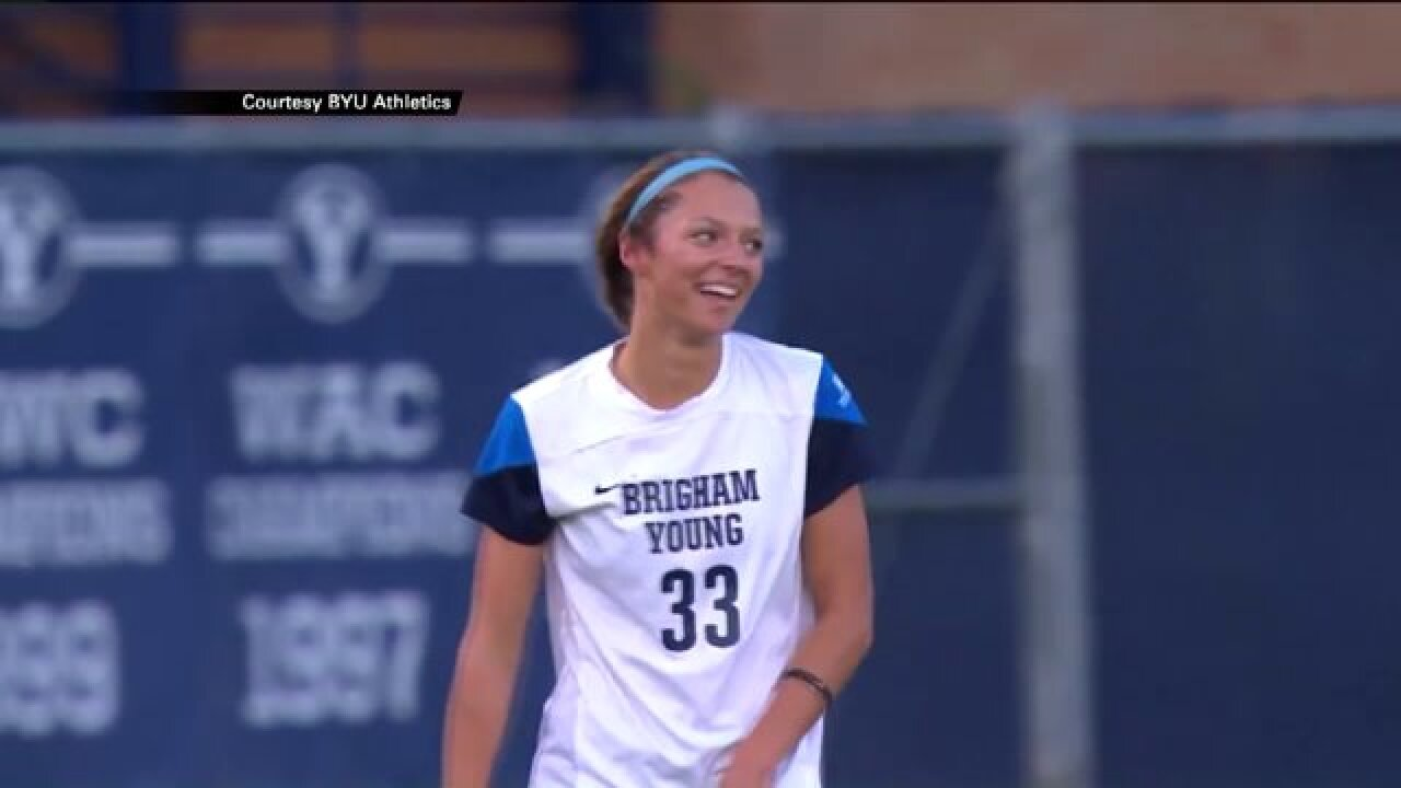 BYU women's soccer ranked 4th