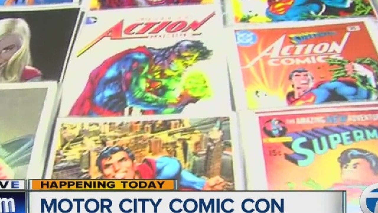 Motor Comic Con breaks attendance record
