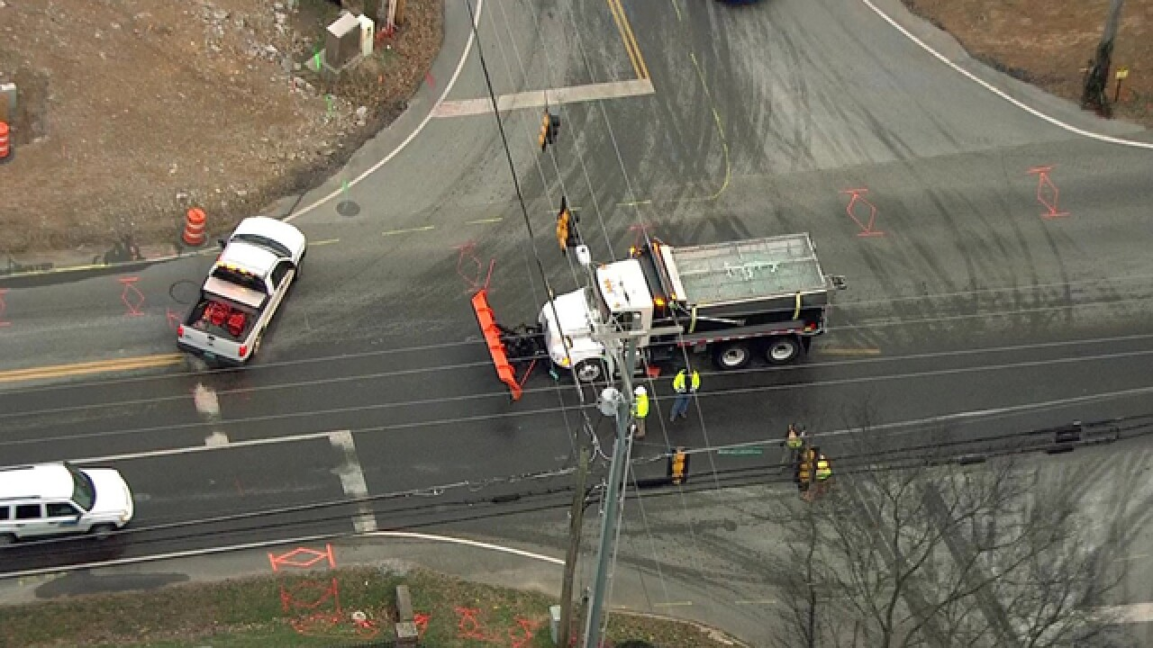 Murfreesboro Road Reopens After Water Main Break