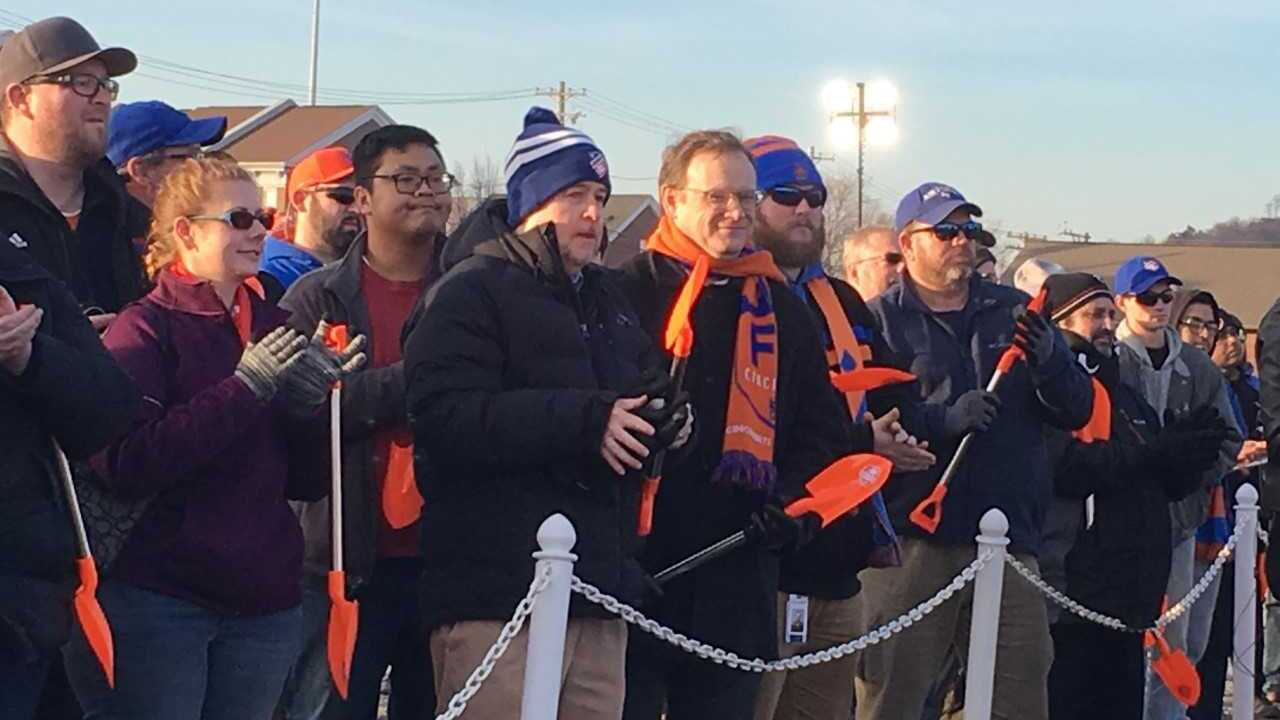 FC Cincinnati groundbreaking