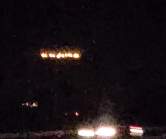 PHOTOS: Mysterious lights hover over San Diego